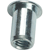 SFM  4 - 30 Honsel - Blindnietmuttern M 4 - Stahl - Flachkop