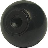 MEZ-Kugel 370 25 mm schwarz zu Klappenstellhebel