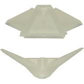 MEZ-PVC-Dichtecken 572 für Winkelecken SBM 3505