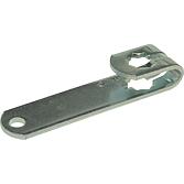 MEZ-Hebel 940/12x12 mm; verz. Klappenhebel ohne Zubehör für V