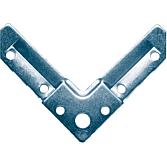 MEZ-Corner lang 30 mm verzinkt; passend zu Syphonflange