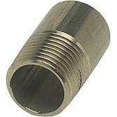 """Anschweissnippel 1/2""""-V4A Typ F-100-1/2"""", L 35mm"""