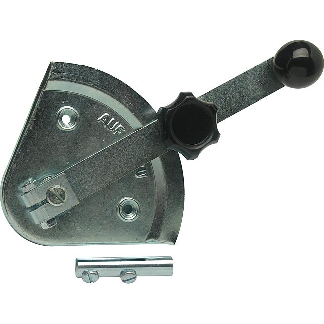 Stellsegment Sk 12 V2A mit 2 Achsen und Lagerscheibe, Schwe