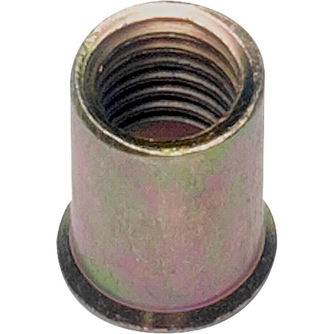 SSM  10 - 30 Honsel - Blindnietmuttern M 10 - Stahl - Senkko