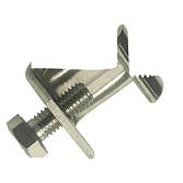 Gewindebügel AP rostfrei - Gb 20/ 40 V2A mit Schraube Inox
