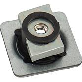 Montageplatte M8 für Montageschiene 41mm breit, verzinkt
