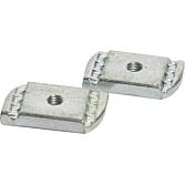 Schiebemutter M 6 für Montageschiene 41 mm breit ohne Feder;