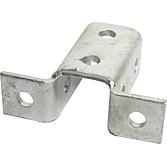 Winkelverbinder für Montageschiene 41mm breit; verzinkt