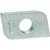 Gewindeplatte 28 x 15 mm M8 für Profilschienen 27/18