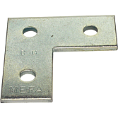Flachverbinder 35/4 L-Form für Profilschienen 36/40