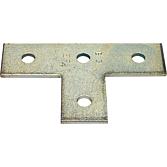Flachverbinder 35/4 T-Form für Profilschienen 36/40