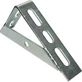 Knotenkonsole L mit 1 Strebe 152 x 100 x 4.0