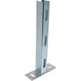 Fertigkonsole C-Profil Platte quer; Typ 420 Länge 420 mm 36/