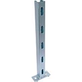 Fertigkonsole C-Profil Platte quer; Typ 315 Länge 315 mm 45/