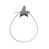 Gripple Universalrohrschelle M8/ M10, 1.5m