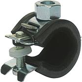 Sigma-Gleitrohrschelle M8 Spannbereich 15 mm einteilig; m. R