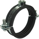 Standard-Rohrschelle MS    Spannbereich 20-25 mm zweiteilig;