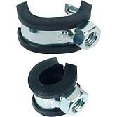 Clipstar-Rohrschelle M8 Spannbereich 10 mm einteilig;m. Hake