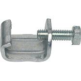 Gewindebügel MEZ-Latz 505, verzinkt 4 mm, passend zu 30 + 40-er Rahmen, Spannbereich 11-25 mm