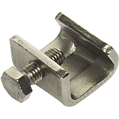 Gewindebügel Mez-Latz 506 E, V2A 3mm, passend zu 20, 30 & 40er- Rahmen, Spannbereich 9-23 mm