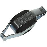 MEZ-Schallisolator für Ø M 8, 40x45x140, verzinkt