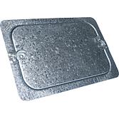 IPD-Revisionsdeckel 240x150 für aussen isolierte Kanäle