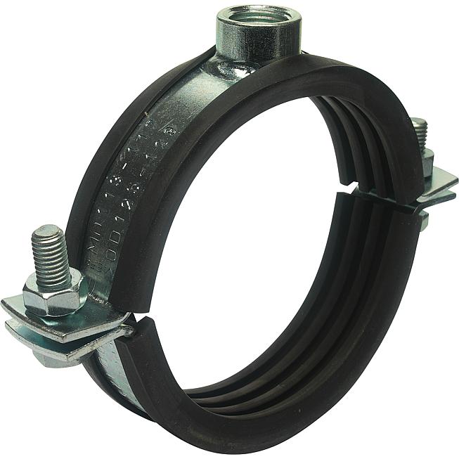 Standard-Rohrschelle Ms Spannbereich 20-25mm zweiteilig