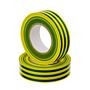 PVC-Isolierband Schwer entflammbar Gelb-Grün 10m
