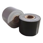 PVC Klebeband Gewebeverstärkt ohne Schutzfolie Schwarz