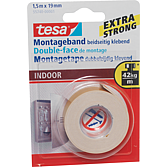 TESA Montageband 19 mm x1,5m doppelseitig klebend; superstar
