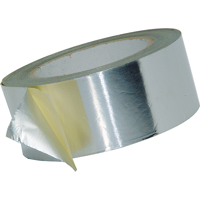 Aluminium-Klebeband 50mm 50lm economy schwer entflammbar