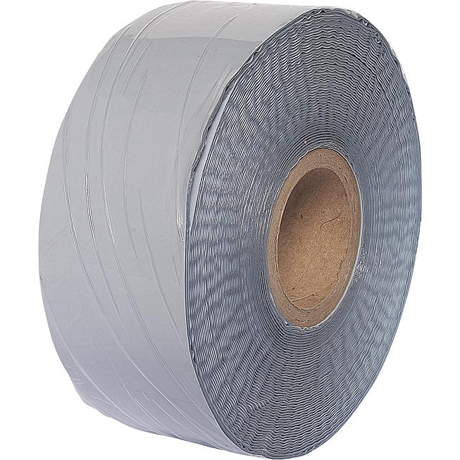 Palimex 2000 S 50mm breit Kaltschrumpfband silbergrau Rolle