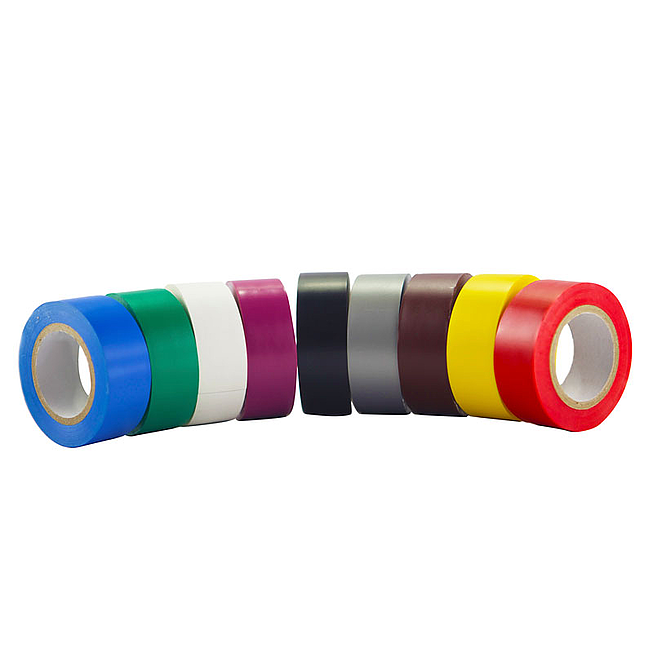 Pvc-Isolierband 19mm, blau