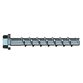 Betonschraube mit Sechskantkopf 6x40 SW 13, verzinkt, ETA, Brandschutz Zertifikat