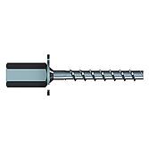 Betonschraube mit Muffe 6x35, IG M8/M10, verzinkt