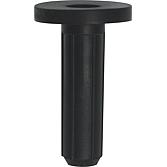Schallschutzdübel 10mm M.B. L 34mm, mit Bund