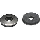 Dichtscheibe V2A/EPDM 12 Innen: 6mm; aussen: 12 mm Dicke: 3m