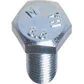 Sechskantschrauben M 4 x  8 DIN 933; verzinkt