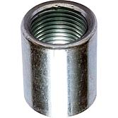 """Muffe 1/2"""" mit IGW; verzinkt 34 mm lang; als Verbindungs-"""