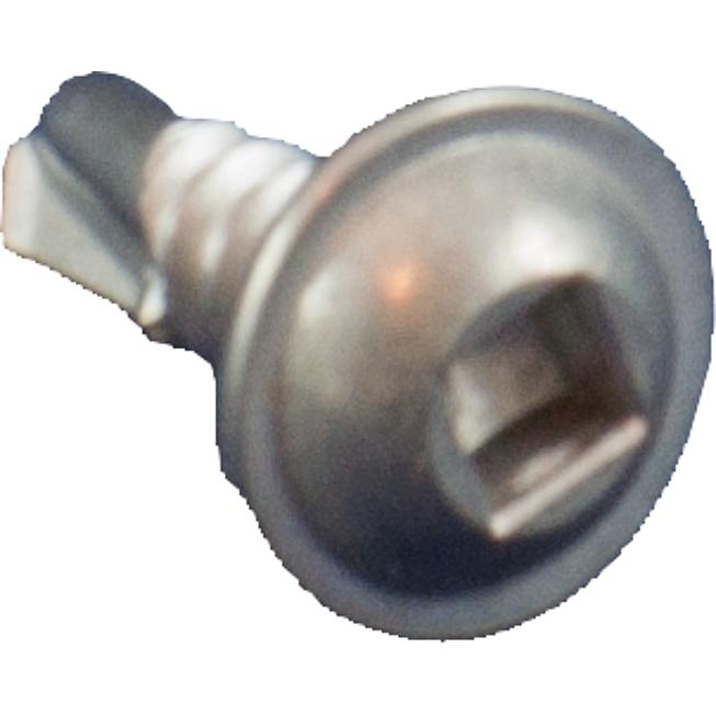 Isotex-Bohrschraube 4.2x13mm mit innenachtkant Inox inkl. Halterung