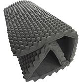 Schalldämmmatte APLOMB 1/B 10 mm PVC-Schaum; 0.35 mm  Blei;