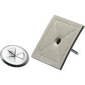 SAH-100-Pins  25 mm lang Isolierstifte mit Klebefolie inkl.