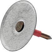 Clip-Pins 19mm für Bms 6 I mit isoliertem Schaft