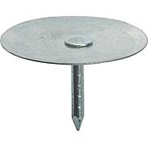 Clip-Pins 19mm, verzinkt mit Normalem Schaft