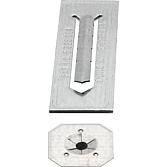 Flip-Stix verzinkt selbstkl. Isolierplättchen, FSG 250