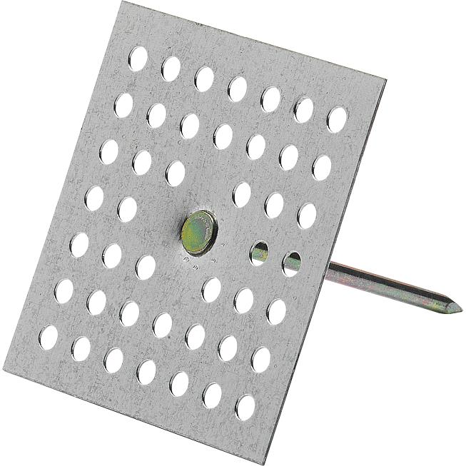 Pbh 034 19mm M. Lochplatte Isolierstifte zum Aufkleben