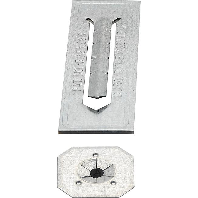 Flip-Stix, verzinkt Selbstkl. Isolierplättchen, Fsg 250