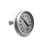 Hygrometer Ø100mm, 0 - 100% komplett mit Schaft L=100mm