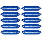 Luftrichtungspfeile/ Freccia Direzionale Dell'Aria Aria Di Smaltimento (Blu)