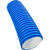 Lüftungsrohr 40 mm flexibel aus Polyäthylen (Hdpe)